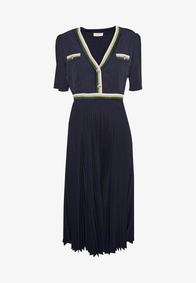 CRUISE - Shirt dress - marine