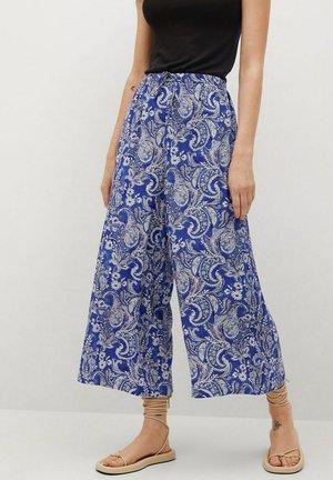 FLOWY - Pantaloni - blue