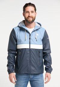 Schmuddelwedda - Waterproof jacket - blue - 0