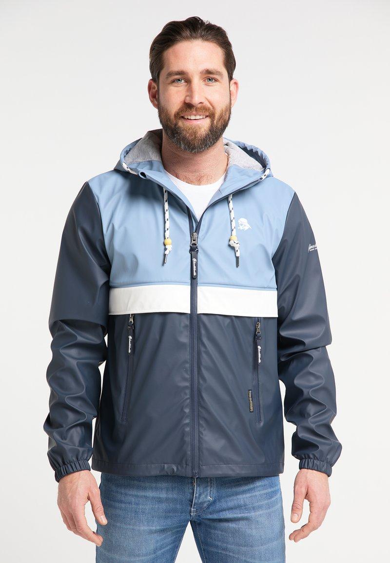Schmuddelwedda - Waterproof jacket - blue