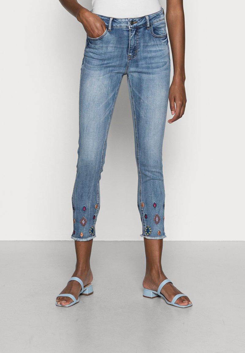 Desigual - MIA - Skinny džíny - blue