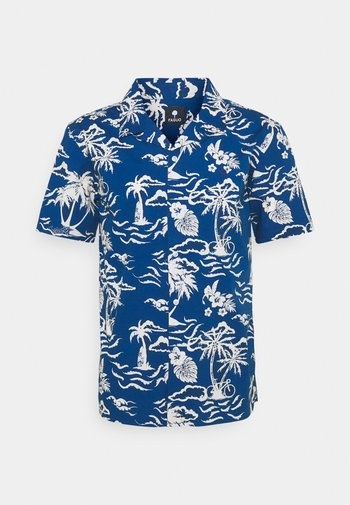 VIMY - Shirt - blue/white