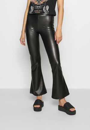 ONLCOOL FLARED PANT - Trousers - black
