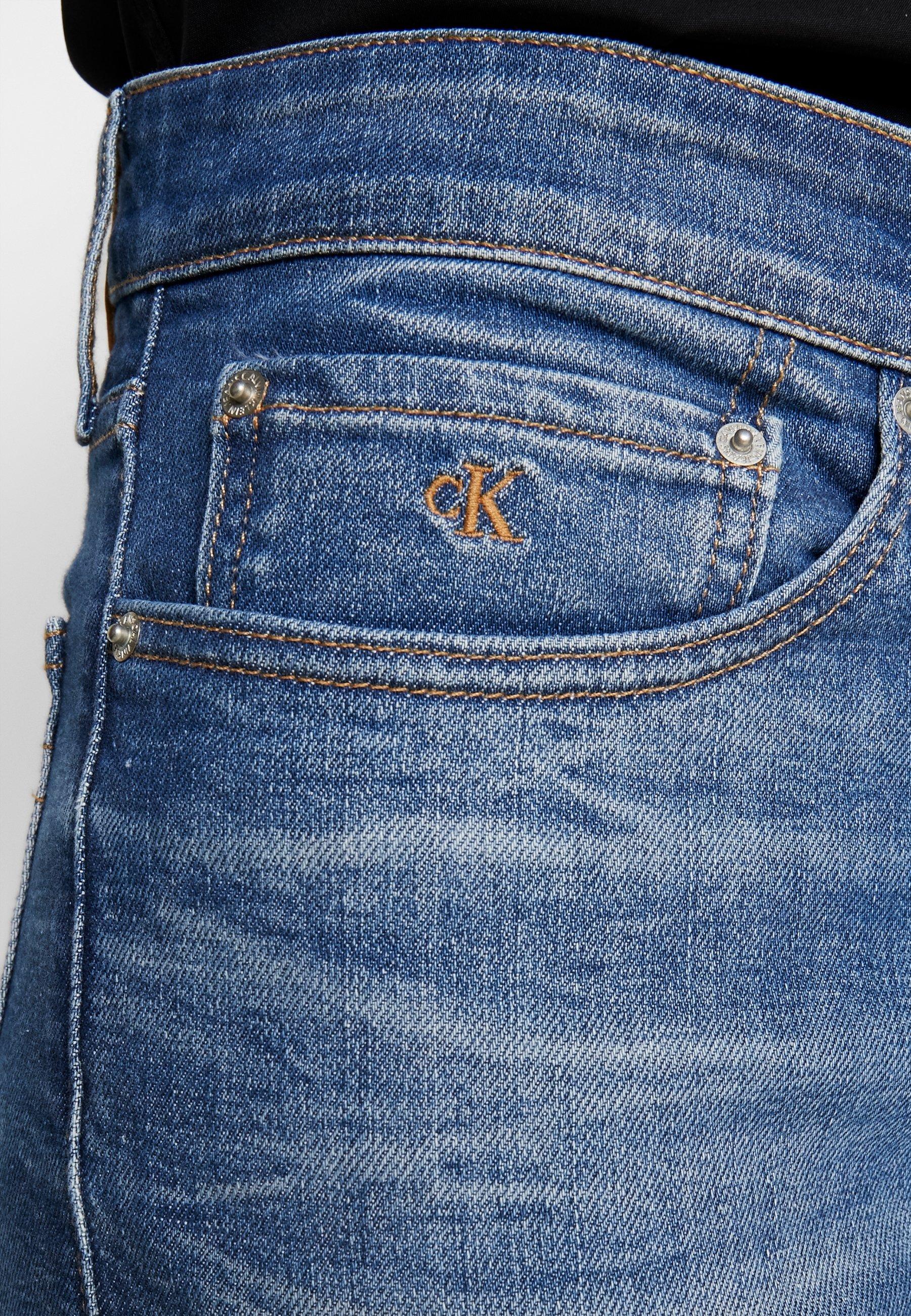 Calvin Klein Jeans Ckj 026 Slim - Fit Light Blue