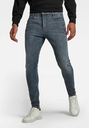 D-STAQ 3D SLIM - Jeans slim fit - worn in smokey night