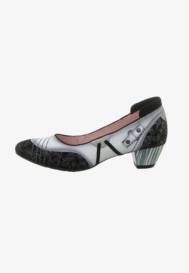 Classic heels - czarny/bialy