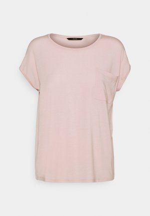 VMDAVA POCKET - T-shirt imprimé - sepia rose