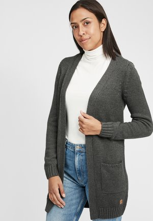 PAULA - Vest - dar grey m