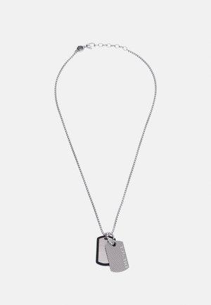 DOUBLE DOGTAGS - Halskæder - silver-coloured