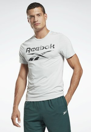 WORKOUT READY ACTIVCHILL - T-shirt print - grey