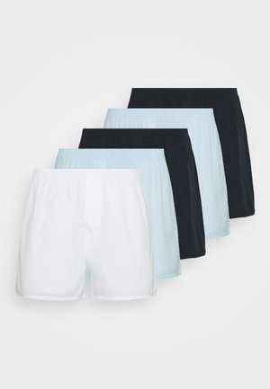 5 PACK - Trenýrky - dark blue/light blue/white