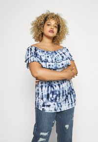 Lauren Ralph Lauren Woman - ADALYN - Print T-shirt - blue/multi - 0