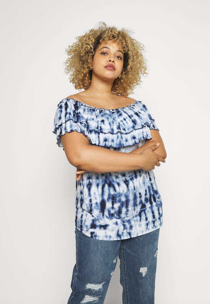 Lauren Ralph Lauren Woman - ADALYN - Print T-shirt - blue/multi