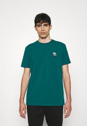 CREWNECK - Marškinėliai su spaudiniu - green