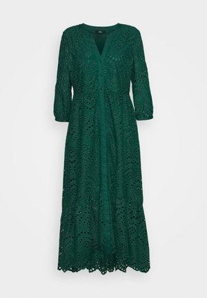 Shirt dress - laguna green
