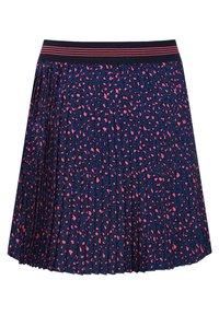 WE Fashion - MIT MUSTER - Jupe plissée - blue - 1