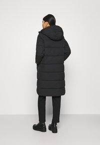 Calvin Klein Jeans - PEACHED LONG PUFFER - Winter coat - black - 2