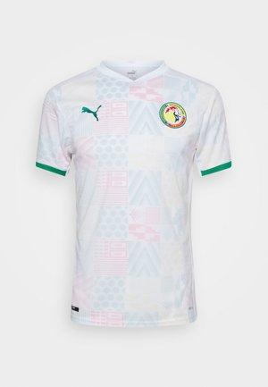 SENEGAL FSF HOME  - National team wear - white/pepper green