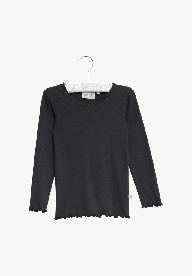 Long sleeved top - midnight blue