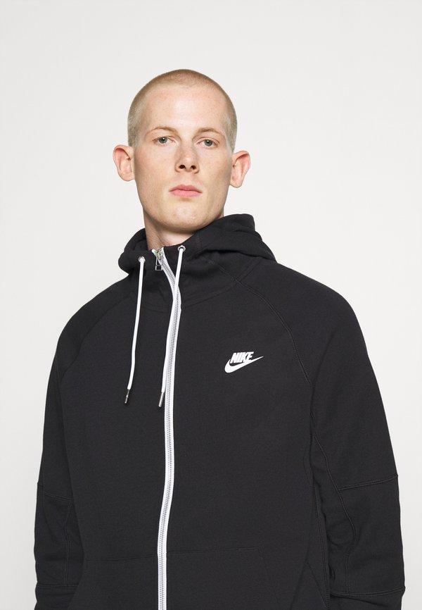 Nike Sportswear Bluza rozpinana - black/ice silver/white/czarny Odzież Męska SHPQ