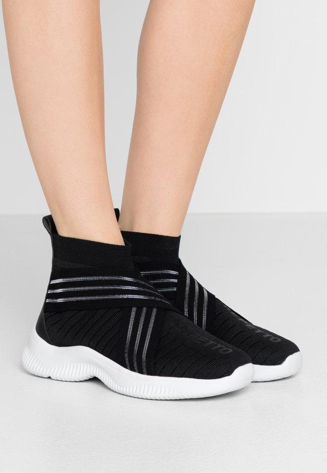High-top trainers - noir