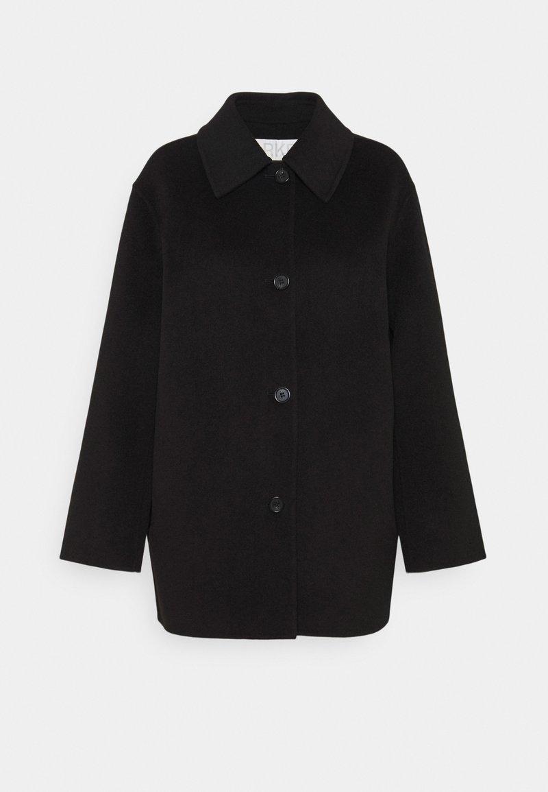 ARKET - Klasický kabát - black