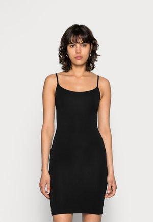 TALLA SLIP DRESS - Etuikleid - black