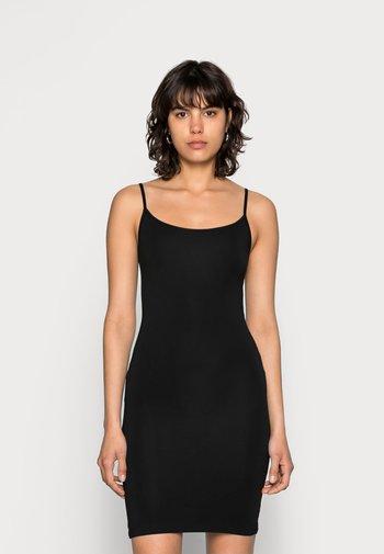 TALLA SLIP DRESS - Shift dress - black