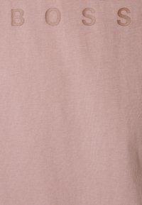 HUGO - DOLIVE - Print T-shirt - light/pastel brown - 6