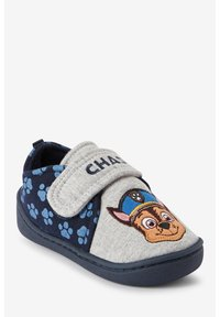 Next - PAW PATROL STRAP TOUCH FASTEN CUPSOLE SLIPPERS - First shoes - grey - 3