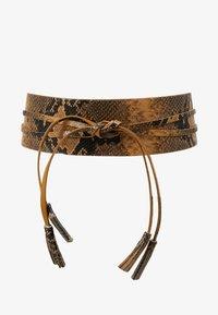 TWINSET - PYTHON SASH BELT - Waist belt - pitone brandy - 4