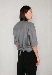 jeeij - BATWING  - Blazer - light grey - 6
