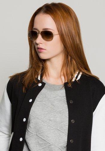 COCKPIT - Sunglasses - goldfarben/braun