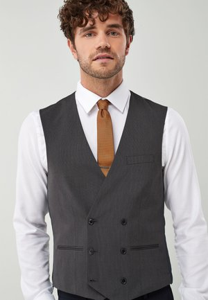 Double Breasted - Gilet - grey