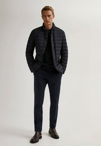 Massimo Dutti - Winter jacket - blue-black denim - 1