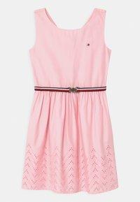 Tommy Hilfiger - SHIFFLEY HEM DRESS - Day dress - pink breeze - 0