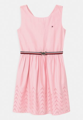 SHIFFLEY HEM DRESS - Vestito estivo - pink breeze