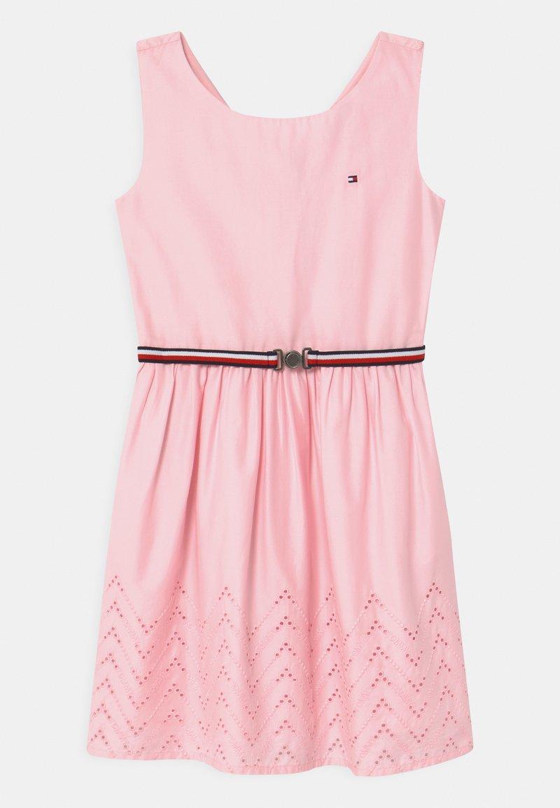 Tommy Hilfiger - SHIFFLEY HEM DRESS - Day dress - pink breeze
