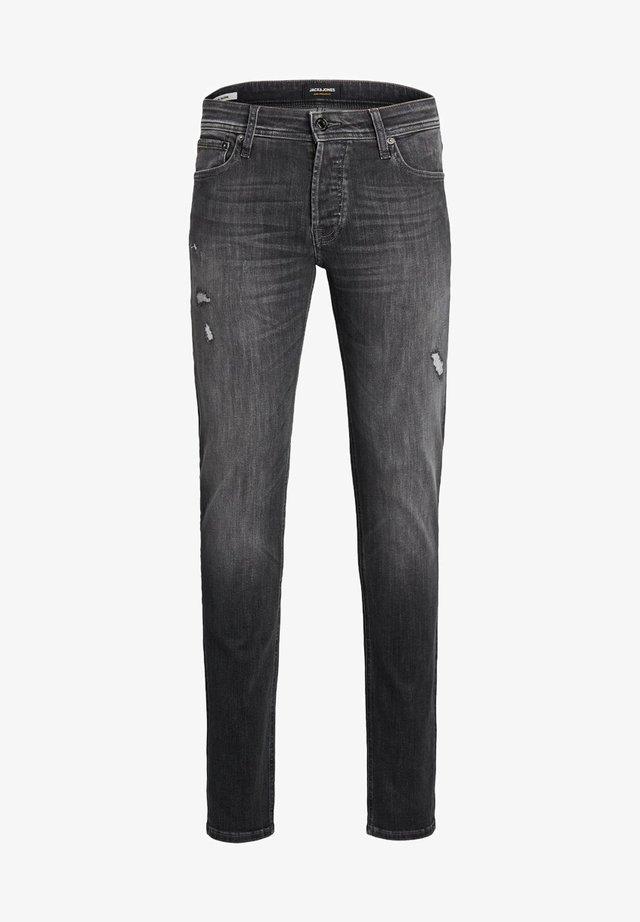SLIM FIT  - Jeans Tapered Fit - grey denim