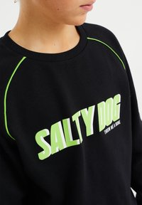WE Fashion - SALTY DOG - T-shirt con stampa - black - 2