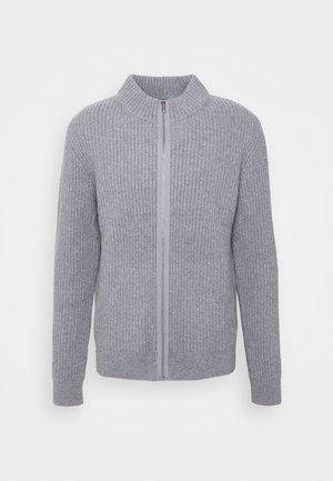 ASHER ZIP  - Cardigan - mid grey