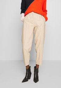 Bruuns Bazaar - CINDY DAGNY PANT - Trousers - light sand - 0