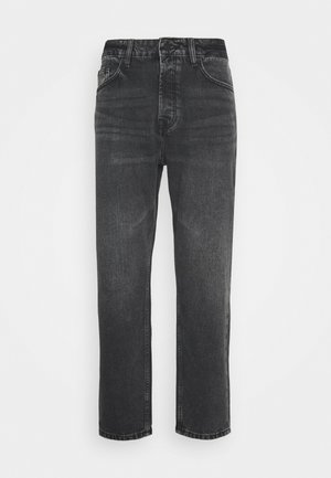 ONSAVI LIFE BEAM CROP  - Relaxed fit jeans - black denim