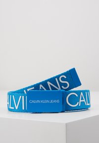 Calvin Klein Jeans - LOGO BELT - Cinturón - blue - 0