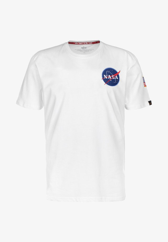176507 - Camiseta estampada - white