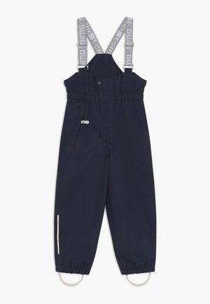 SUOJA - Pantalones montañeros largos - navy
