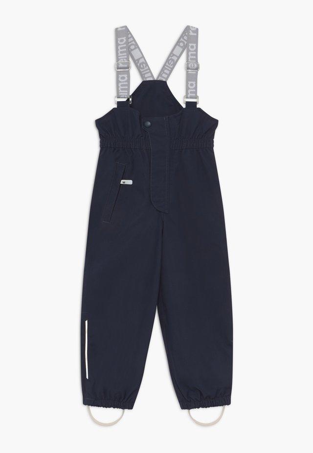 SUOJA - Długie spodnie trekkingowe - navy
