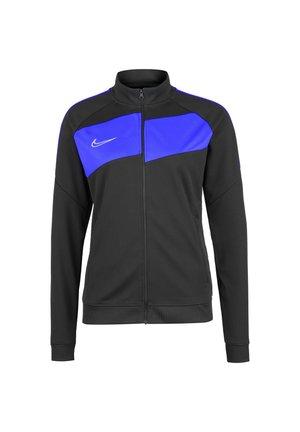 ACADEMY 20 KNIT TRAININGSJACKE DAMEN - Training jacket - anthracite / photo blue / white