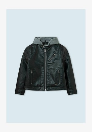 Faux leather jacket - infinity