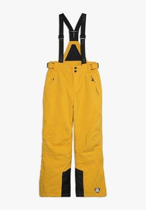 GAUROR UNISEX - Zimní kalhoty - gebranntes gelb